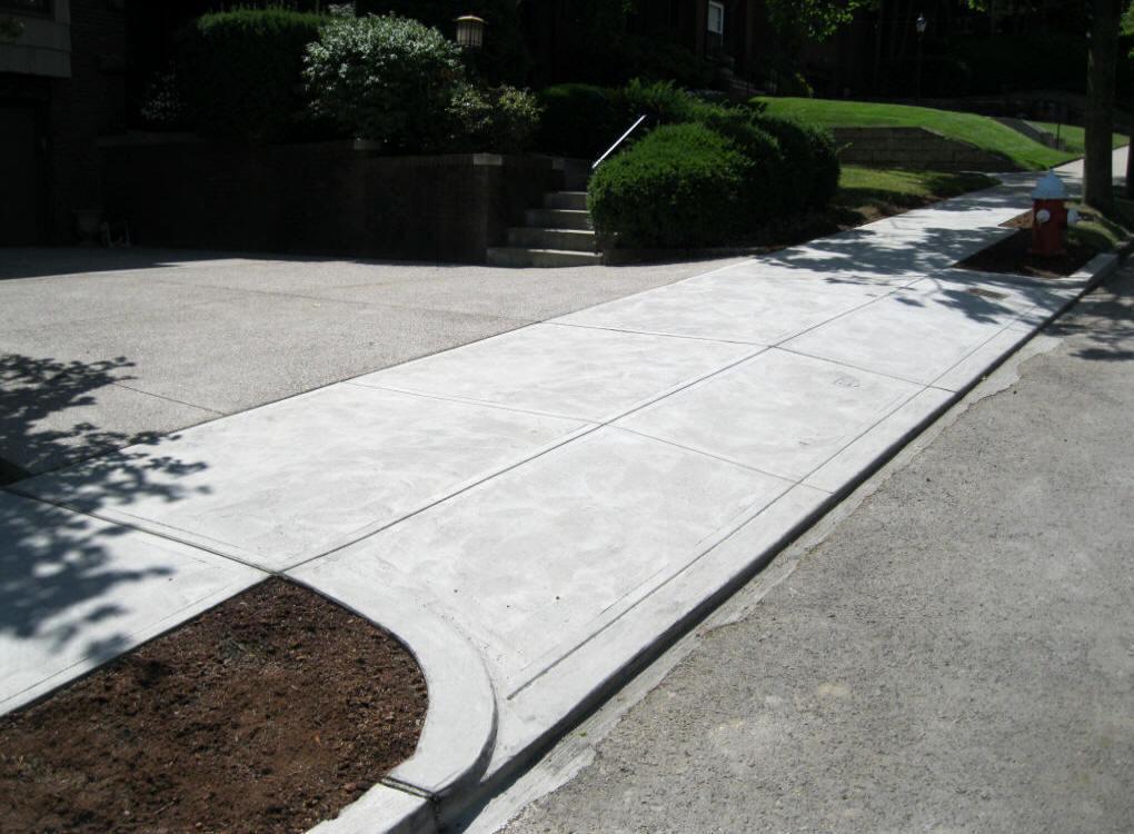 Sidewalks Walkways Baleno Concrete